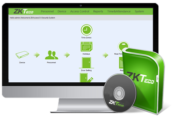 Software de control de acceso ZK Access 3.5